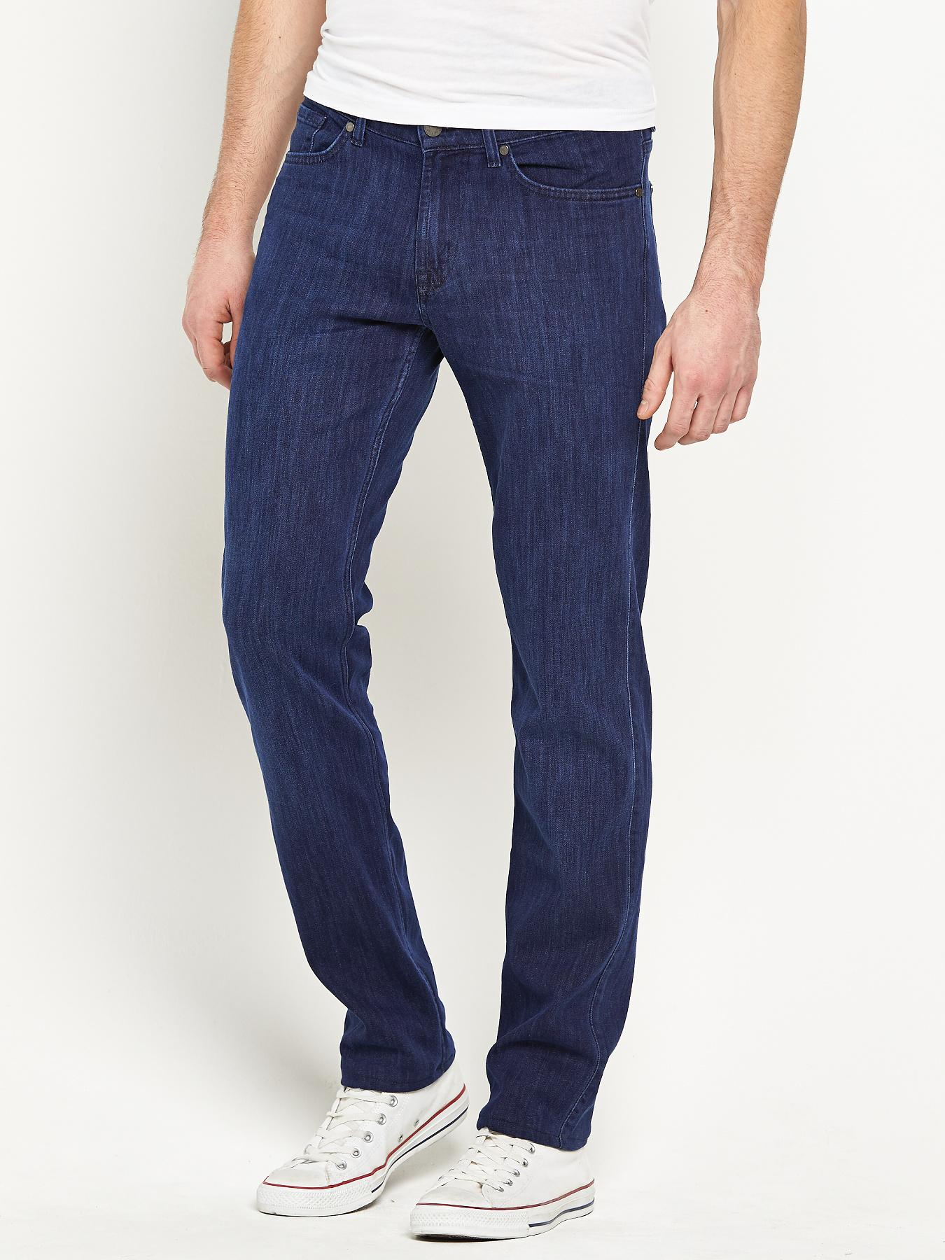 7 For All Mankind Mens Slimmy Jeans - Blue, Blue