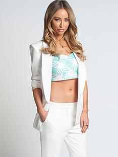 lauren-pope-white-suit-jacket