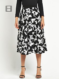 definitions-printed-full-circle-skirt