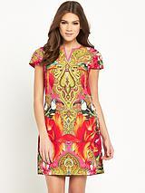 Paisley Toucan Tunic Dress