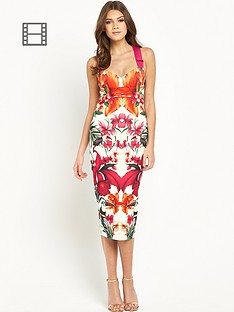 ted-baker-tropical-toucan-midi-bodycon-dress