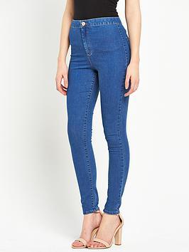 miss-selfridge-miss-selfridge-super-skinny-high-waisted-jeans