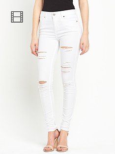 miss-selfridge-lizzie-shred-jeans
