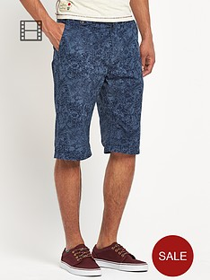 tokyo-laundry-cotton-twill-patterned-shorts