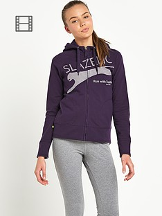 slazenger-ella-hooded-zip-through-top