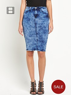 south-denim-tube-skirt