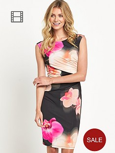 coast-orchid-placement-print-jersey-dress