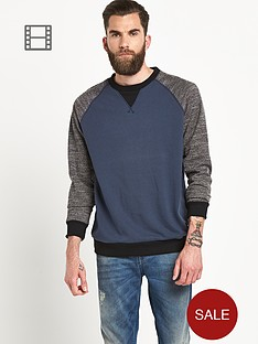 only-sons-mens-fernley-contrast-crew-neck-sweater