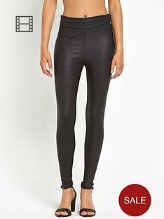 definitions-coated-snake-print-leggings