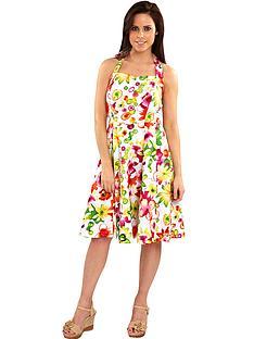 joe-browns-totally-tropical-halterneck-dress