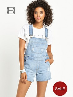 love-label-paris-short-ripped-dungarees