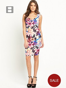 lipsy-jungle-print-bardot-bodycon-dress