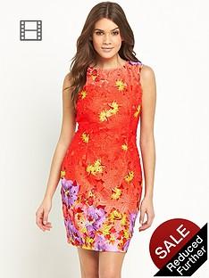 lipsy-lace-print-dress