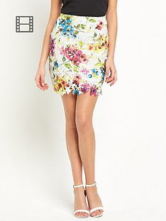 lipsy-keegan-flower-lace-pencil-skirt