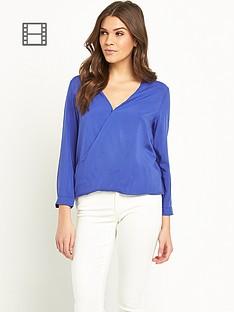 glamorous-crossover-blouse