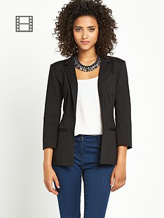 south-jersey-blazer-black