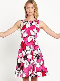 myleene-klass-oversized-floral-print-dress