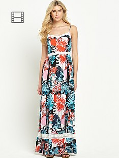 south-crinkle-floral-print-maxi-dress