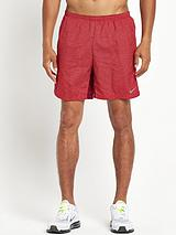 Mens Printed 7 inch Distance Shorts
