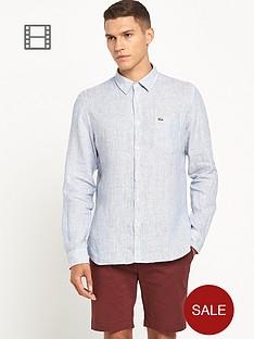 lacoste-mens-linen-striped-shirt