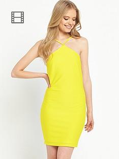 miss-selfridge-miss-selfridge-textured-bodycon-dress