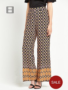 miss-selfridge-carpet-print-wide-leg-trousers