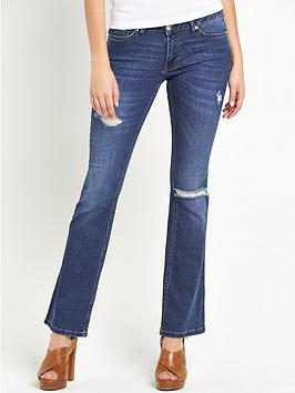 South Sienna Ripped Kickflare Jeans