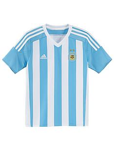 adidas-junior-argentina-home-short-sleeve-replica-jersey