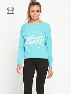 pineapple-long-sleeve-top
