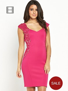 lipsy-lace-applique-bodycon-dress