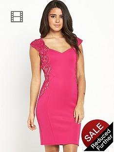 lipsy-lace-applique-bodycon-dress