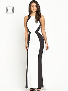 lipsy-mono-high-neck-dress