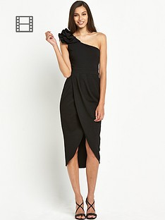 tfnc-isabelle-one-shoulder-wrap-dress