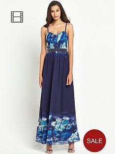 little-mistress-floral-bust-embellished-waist-maxi-dress