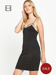 miss-selfridge-strappy-detail-dress