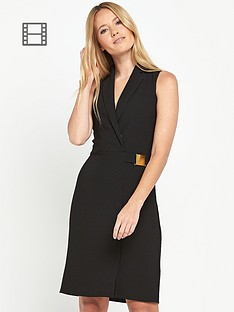 miss-selfridge-collar-crepe-wrap-dress