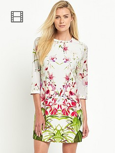 ted-baker-mirrored-tropics-ruffle-tunic
