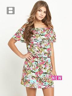 resort-tropical-print-bardot-jersey-dress