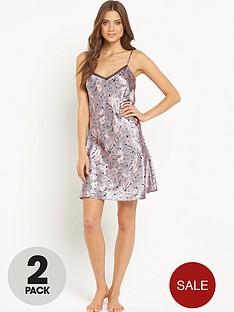 sorbet-satin-nightdress-2-pack