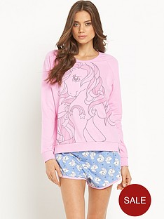 character-my-little-pony-sweat-shorts-set