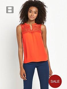 definitions-lace-yoke-sleeveless-top