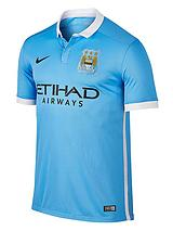 Mens Manchester City FC 2015/16 Home Shirt