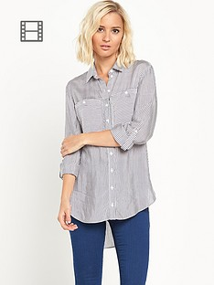 miss-selfridge-blue-striped-double-pocket-long-sleeved-shirt