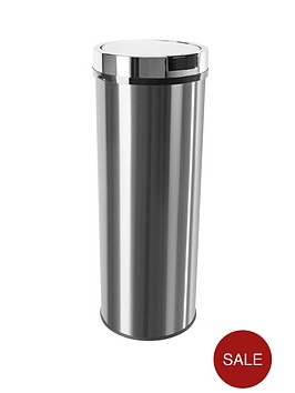 morphy-richards-round-sensor-bin-50l-stainless-steel