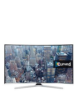 Samsung Ue40J6300Akxxu 40 Inch Curved Full Hd, Freeview, Smart Tv - Black