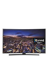 UE40JU6500KXXU 40 inch Curved UHD 4K Freeview HD Smart TV - Black