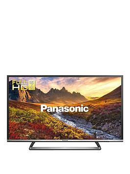 Panasonic Viera Tx-40Cs520B 40 Inch Full Hd Led Freeview Hd With Freetime Smart Tv With Built-In Wifi - Black