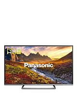 Viera TX-50CS520B 50 inch Full HD LED Freeview HD with Freetime Smart TV with Built-In Wi-Fi - Black