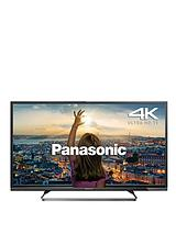 Viera TX-40CX680B 40 inch 4K Ultra HD Freeview HD with Freeview Play Smart TV, Built-In Wi-Fi - Black