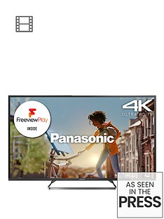panasonic-viera-tx-50cx680b-50-inch-4k-ultra-hd-freeview-hd-with-freeview-play-led-smart-tv-built-in-wi-fi-black
